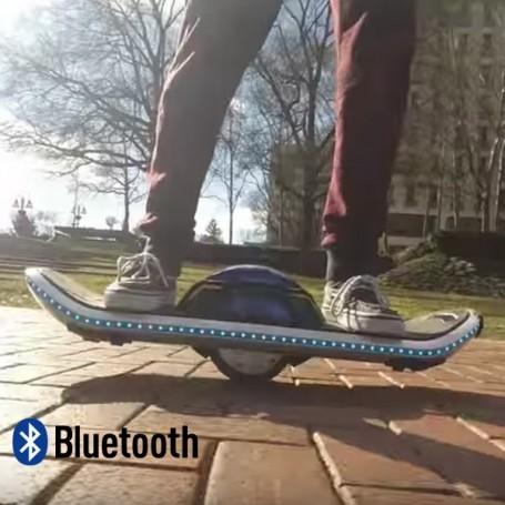 Skateboard électrique LED