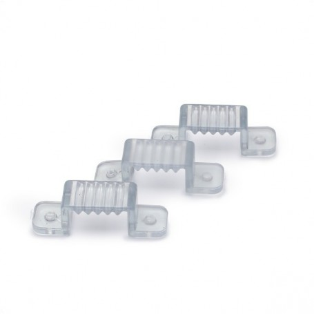 Crochets pour ruban LED 230V - LOT de 3