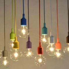 Suspension ampoule E27
