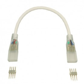 Connecteur angle RGB pour ruban LED 220V RGB