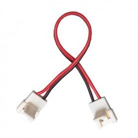 Connecteur monocouleur d'angle cablé IP20