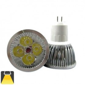 Spot LED 4W GU5.3 MR16 - Blanc chaud 3000K