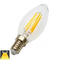 Ampoule flamme LED E14 4W
