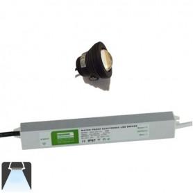 KIT 1 à 4 Projecteurs LED 10W étanche - Blanc froid 6000K