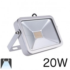 Projecteur LED plat LED blanc 20W