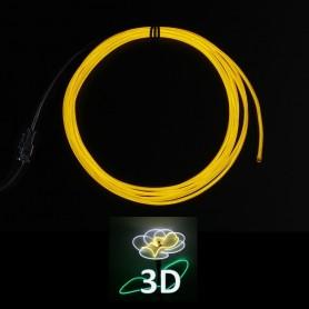 Fil lumineux 3D