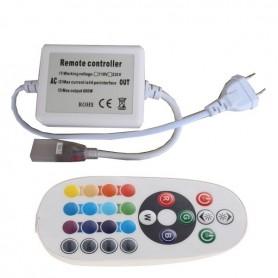 Contrôleur RGB RF ruban LED 230V RGB