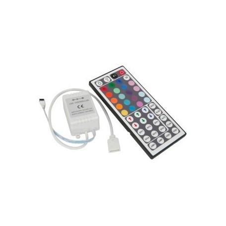 Contrôleur Télécommande RGB 44 touches 12A 12/24V