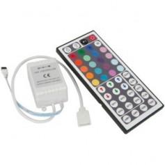 Contrôleur Télécommande RGB 44 touches 12A 12V