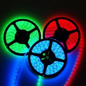 Ruban LED RGB 24V 0,90 mètre avec 2 mètres decable RGB