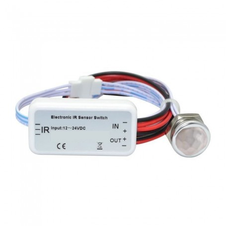 Mini détecteur à main 5A 12/24V encastrable