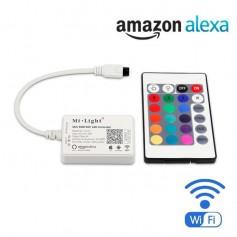 Contrôleur Télécommande WIFI RGB 24 touches 4A 12/24V