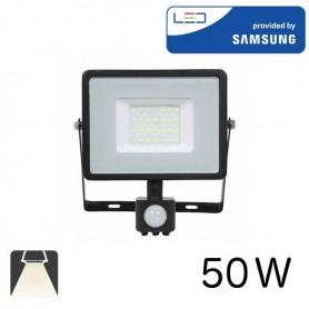 Projecteur LED 30W ultrafin avec détecteur de mouvement