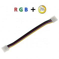 Connecteur d'angle RGB+blanc variable