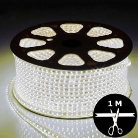 Ruban LED 230V 5050 sécable 1 mètre - Blanc naturel 4500K