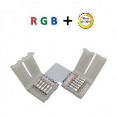 Connecteur RGB + blanc variable en L