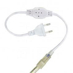 Connecteur électrique ruban LED 230V mono