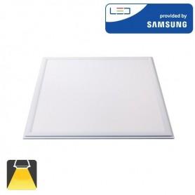 Panneau LED 600x600, 45W, carré encastrable - Blanc chaud 3000K
