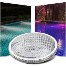 Ampoule LED piscine PAR56 RGB + blanc variable RF 27W 12V