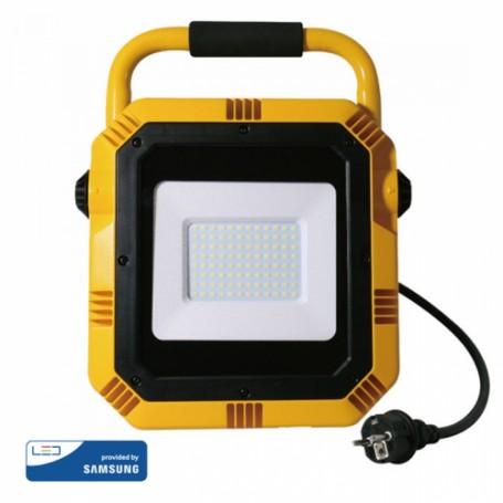 Projecteur de chantier LED 50W
