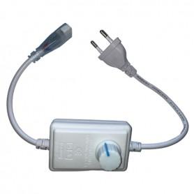 Connecteur Interrupteur variateur bouton ruban LED 230V mono