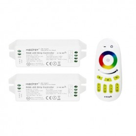 Pack télécommande multizones RGB RF 12/24V