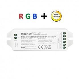 Contrôleur multizones RGB + blanc variable 12A 12/24V