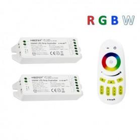 Pack télécommande multizones RGBW RF 12/24V