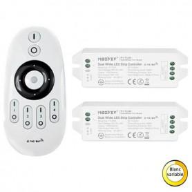 Pack télécommande multi zones varible blanc RF