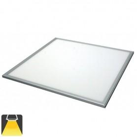 Panneau LED 600x600, 36W, carré encastrable - LOT DE 2 - Blanc chaud 3000K