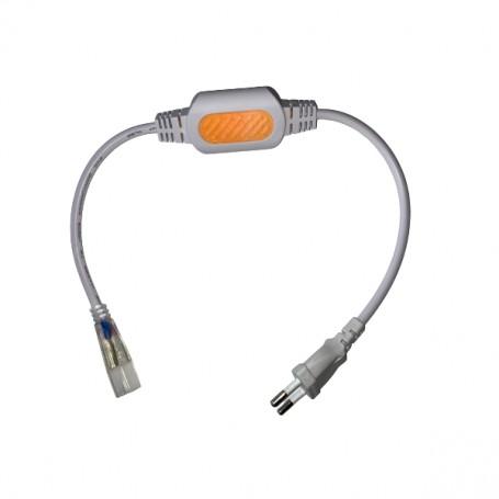 Connecteur électrique 15A ruban LED 230V mono