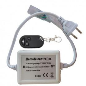 Connecteur Interrupteur variateur RF ruban LED 230V mono