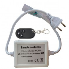 Connecteur Interrupteur variateur RF ruban LED 230V mono