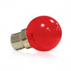 Ampoule LED B22 BLANC ROUGE VERT BLEU