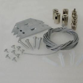 Kit saillie pour panneau LED 600x600