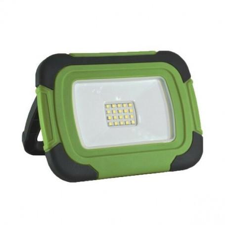 Projecteur LED 10W à batterie rechargeable
