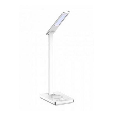Lampe LED de bureau - blanc variable - dimmable - support de chargement téléphone