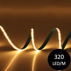 Ruban LED 12V COB 320 led/m