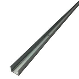 Profilé 1 mètre alu pour néons flexible LED PLAT 10mm