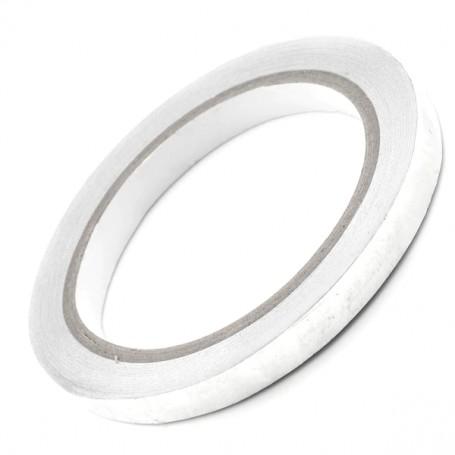Bande aluminium 10 mm adhésive simple face 20 mètres