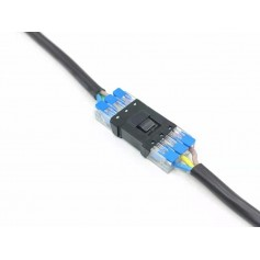 Connecteur électrique clipsable 3 fils 12/24V ou 230V
