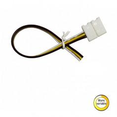 Connecteur ruban blanc variable IP20 vers 3 fils
