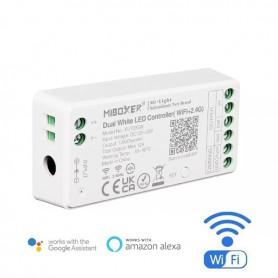 Contrôleur WIFI multizones mono & blanc variable 12A 12/24V