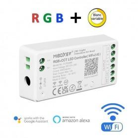 Contrôleur WIFI multizones RGB + blanc variable 12A 12/24V