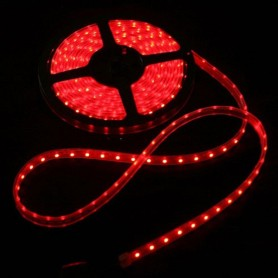 Ruban LED 12V 3528 - Rouge
