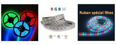 Rubans LED RGB 24V